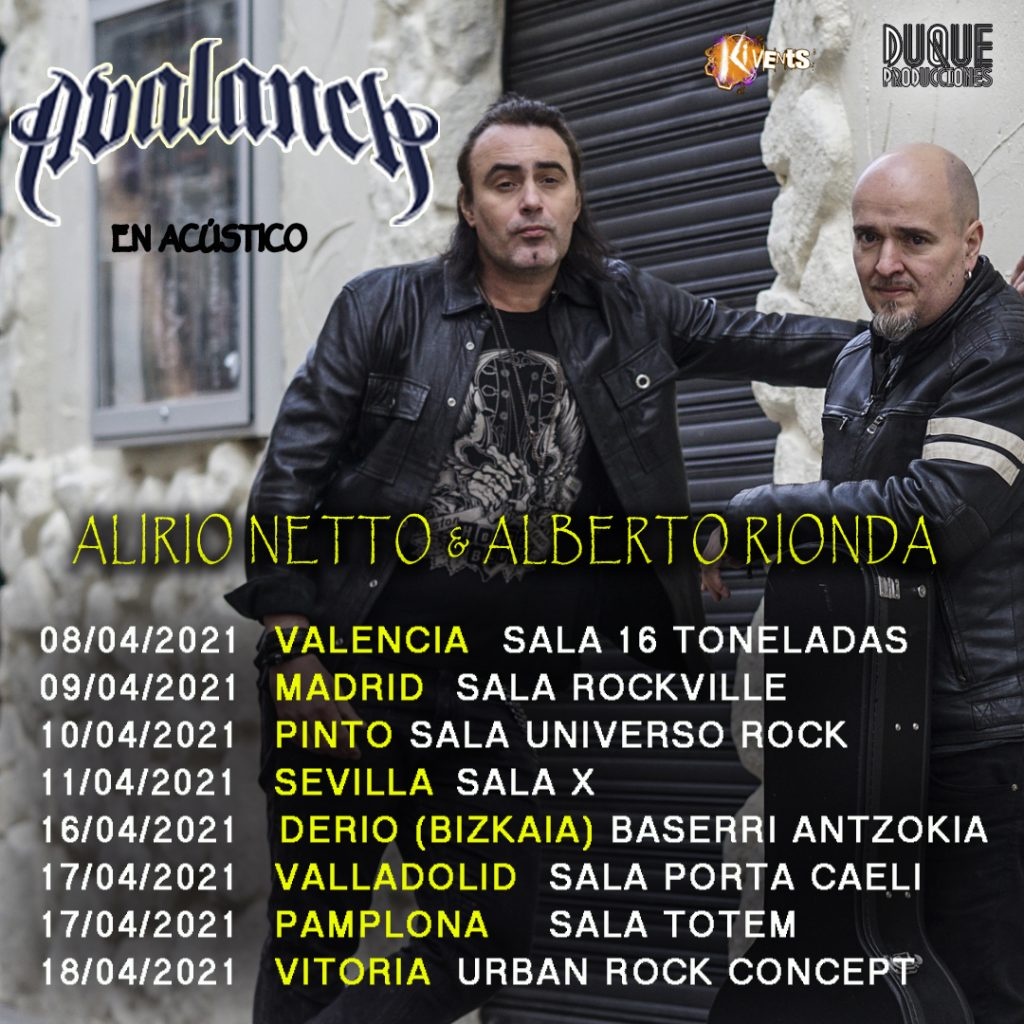 Alberto Rionda & Alirio Netto Tour